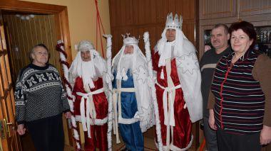 Trys karaliai lankėsi Upninkuose