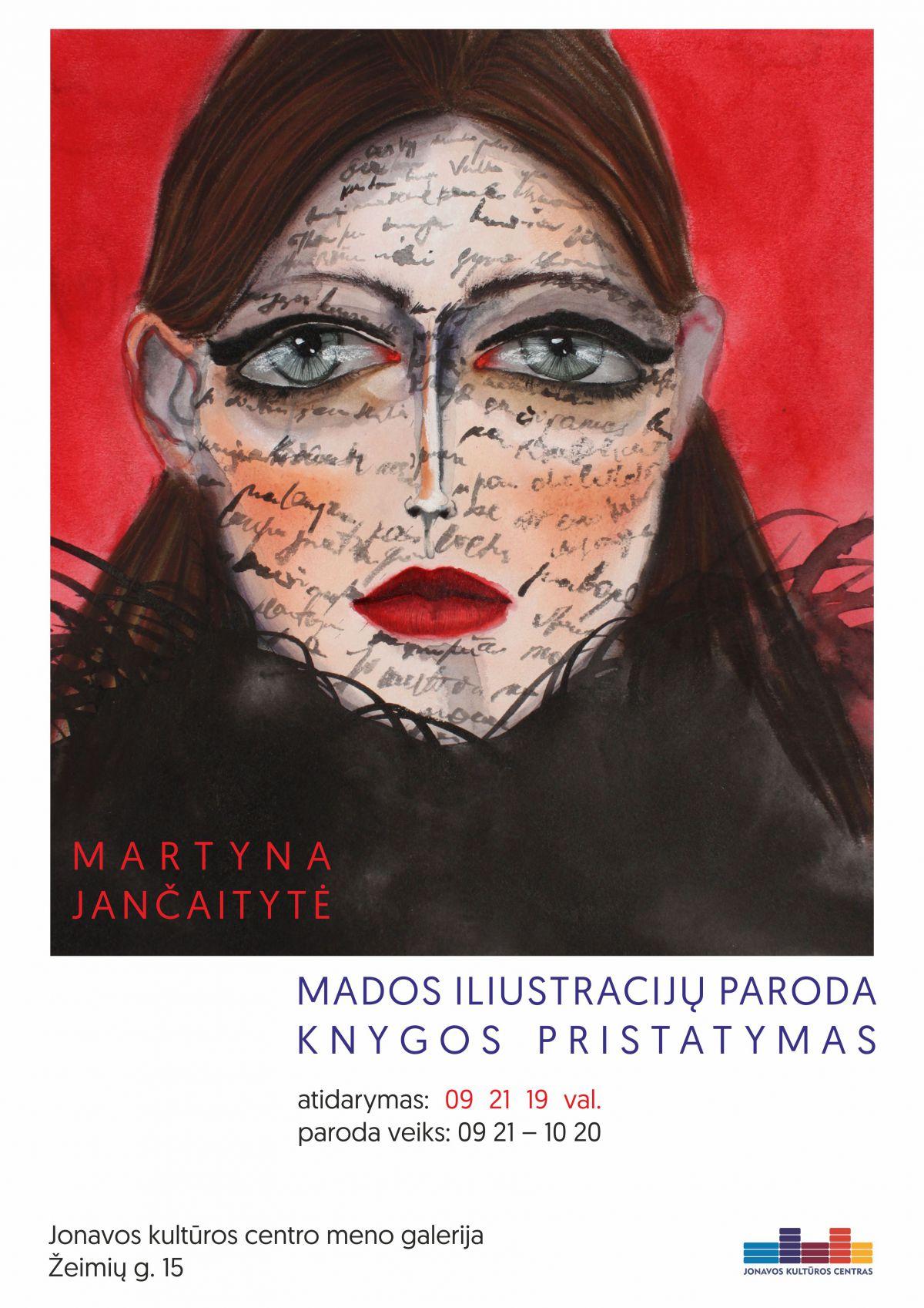 Martynos Jančaitytės grafikos darbų paroda