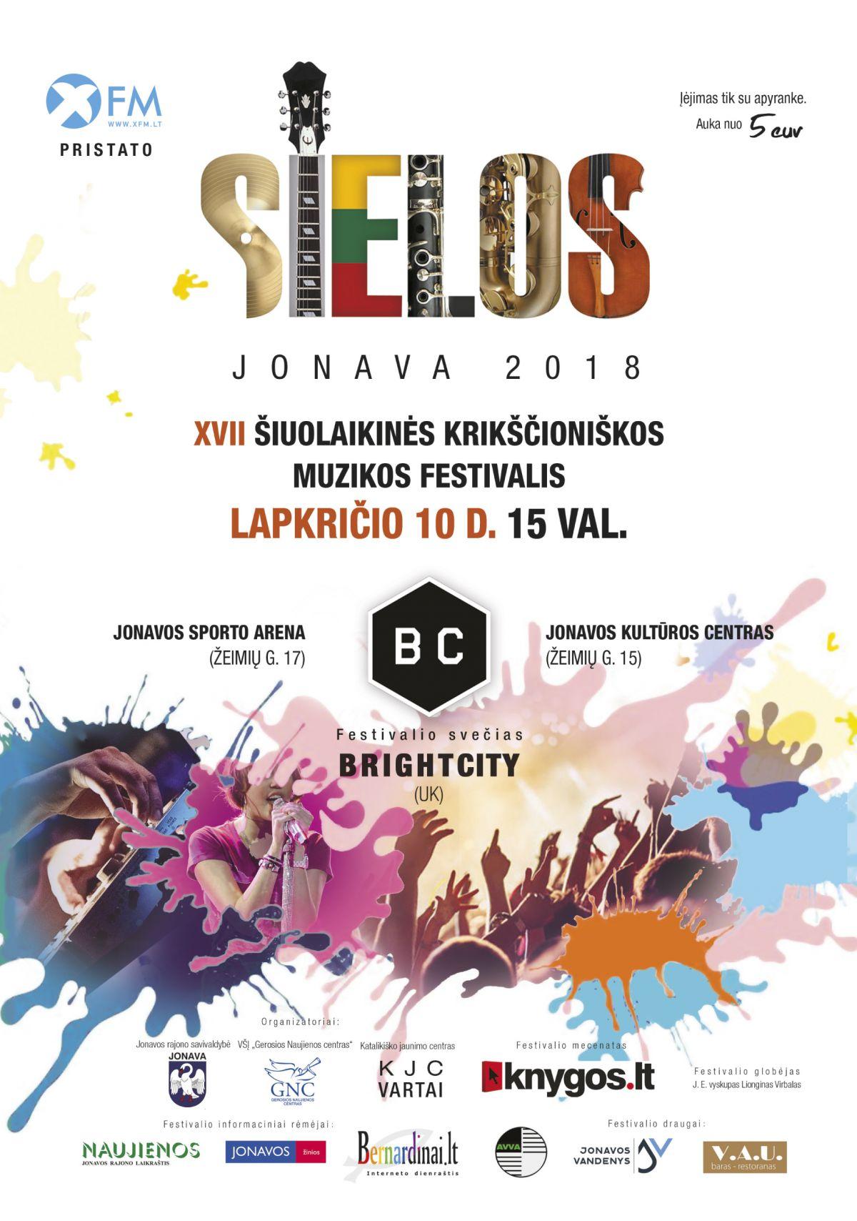 """Krikščioniškos muzikos festivalis """"Sielos"""