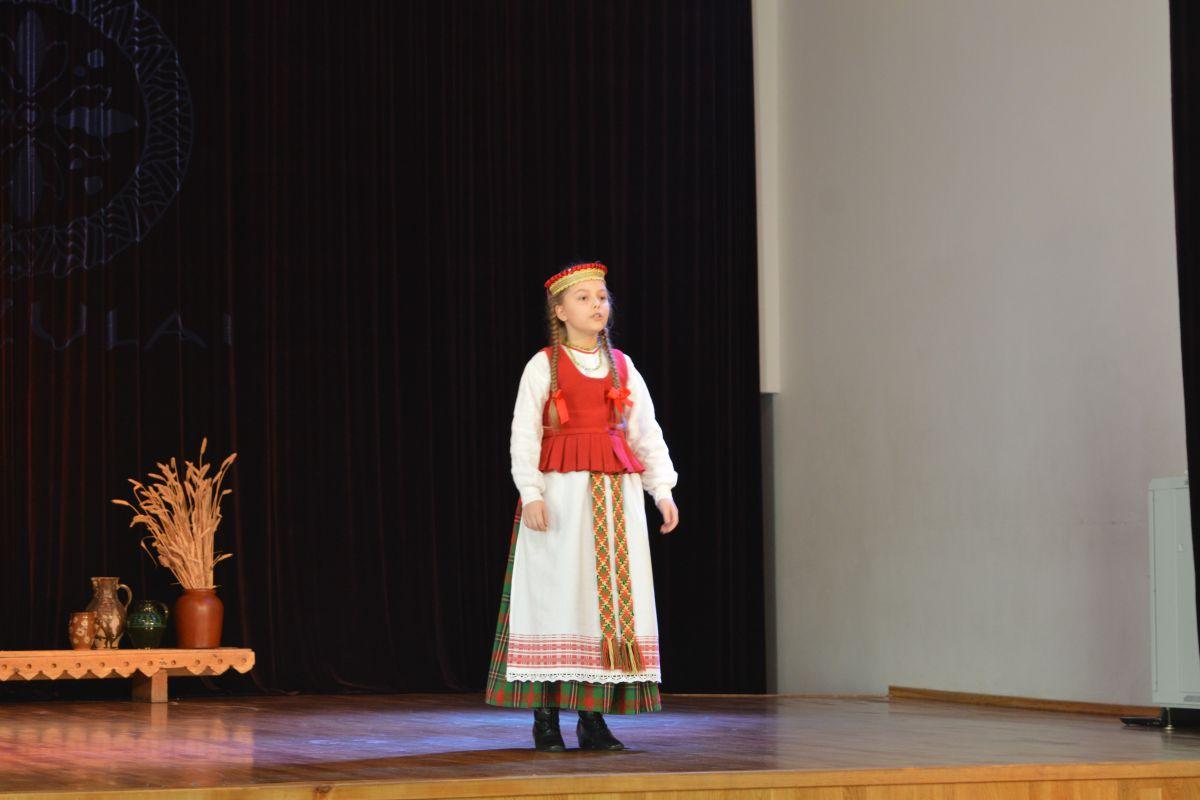 """Lapkričio 17 d. VGTU inžinerijos licėjuje vyko pirmasis respublikinis lietuvių dainuojamojo folklore festivalis-konkursas """"Grįžulai"""