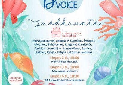 """Dviejų dienų tarptautinis """"Baltic voice 2019"""" konkursas- festivalis buvo sėkmingas kolektyvo solistéms Deimantė Šimbaraitė ir Elvija Zvicevičiūtė."""