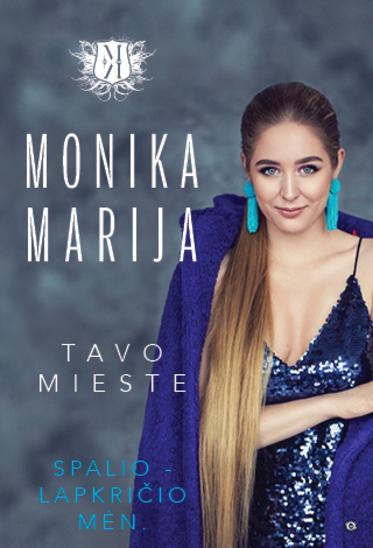 Monika Marija gyvo garso koncertas
