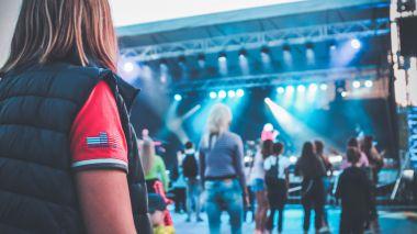 Vasaros festivalio uždarymo šventė.