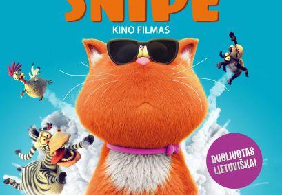 """Kino pirmadienis. Animacinis filmas vaikams ,,Pūkuota Šnipė"""""""