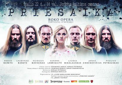 "Roko opera ""PRIESAIKA"" premjera!"