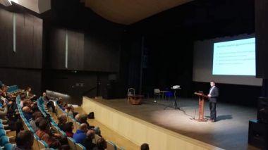"""Anykščių kultūros centre lapkričio 5-6 dienomis vyko seminaras """"Šiuolaikinės kultūros centro salės techninės galimybės: akustika, garsas, šviesa"""