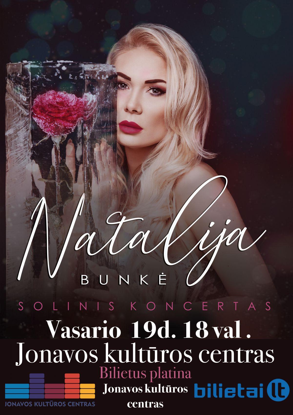 Natalija Bunkė. Solinis koncertas.