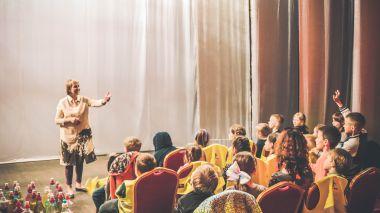 Edukacija moksleiviams Spektaklis - patyrimas