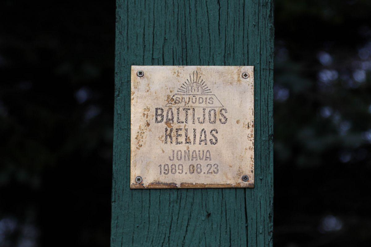 Baltijos kelio minėjimas