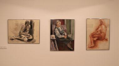 Janinos Altaravičienės darbų paroda EKSPERIMENTAI, IEŠKOJIMAI, ŽAIDIMAI SPALVOMIS