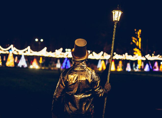 Kalėdinės miesto eglės įžiebimo šventė