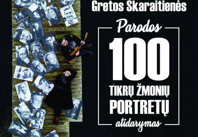 """""""100 tikrų žmonių portretų"""" Gretos Skaraitienės fotografijų paroda"""